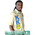 Custom Greek Dickies Shirt