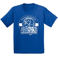 Phi Beta Sigma New Centennial Logo T-Shirt, Royal Blue DTG