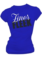 Zeta Phi Beta Finer on Fleek Fitted Screen Printed T-shirt