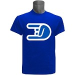 Phi Beta Sigma Hand Sign DTG T-Shirt, Royal Blue