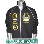 Custom Mens Fraternity Track Jacket