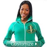 Custom Ladies Sorority Track Jacket