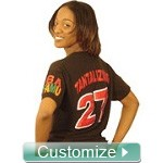 Custom Greek Crossing T-Shirt - Fraternity and Sorority Line Shirt